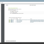 MyRisk users registry: print page