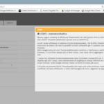 Platform users registry: modify and contestual help